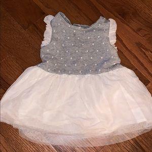 Gap 12-18 month tull skirt dress /ruffle sleeve
